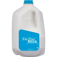 Store Brand Milk Fat Free 1 Gallon