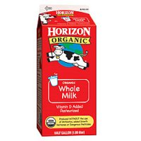 Horizon Organic Whole Milk 64oz CTN