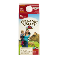 Organic Valley Whole Milk 64oz CTN