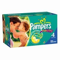 Pampers Baby Dry Size 4 (22-37LB) 92CT PKG