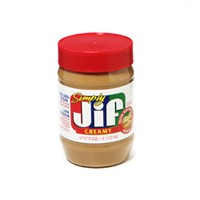 Jif Simply Creamy Peanut Butter 15.5oz Jar product image