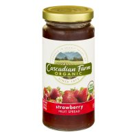 Cascadian Farm Organic Fruit Spread Strawberry 10oz Jar