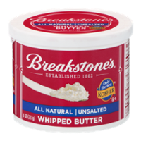 Breakstones Whipped Unsalted Butter 8oz Tub