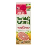 Florida's Natural Ruby Red Grapefruit Juice 59oz CTN