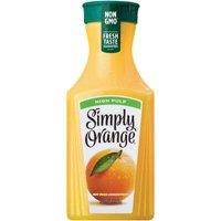 Simply Orange Grove Made Orange Juice High Pulp 59oz BTL