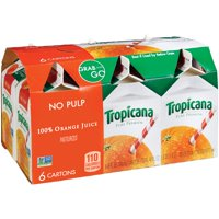 Tropicana Pure Premium Orange Juice No Pulp 6CT 8oz EA