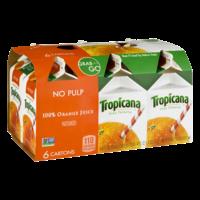 Tropicana Pure Premium Orange Juice No Pulp 6CT 8oz EA product image