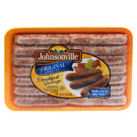 Johnsonville Orginal Recipe Breakfast Sausage 12 oz