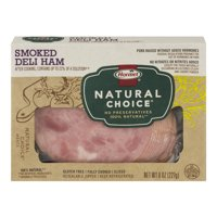 Hormel Natural Choice Deli Ham Smoked Sliced 8oz PKG