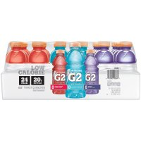 Gatorade G2 Low Calorie Electrolyte Beverage 20oz Bottles 24 Variety Pack