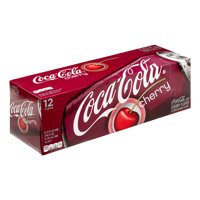 Coke Cherry 12 Pack of 12oz Cans