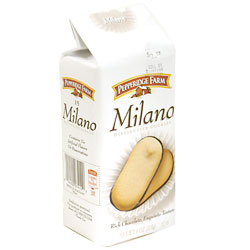 Pepperidge Farm Dark Chocolate Milano Cookies 6oz PKG