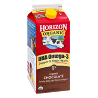 Horizon Organic DHA Omega-3 Milk Chocolate 1% Low Fat 64oz CTN