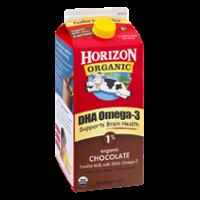Horizon Organic DHA Omega-3 Milk Chocolate 1% Low Fat 64oz CTN product image