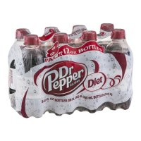Dr Pepper Diet 8 Pack of 12oz Bottles