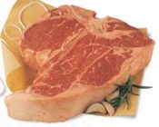 Beef Loin Porterhouse Steak Bone-In USDA Choice Approx 1LB