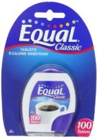 Equal Sweetener Tablets 100CT PKG