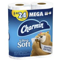 Charmin Bath Tissue Ultra Soft Double 2-Ply 6CT