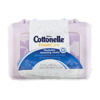 Kleenex Cottonelle Fresh Flushable Wipes 42CT product image