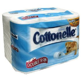 Kleenex Cottonelle Ultra Bath Tissue Double Roll 2-Ply Unscented 12CT product image
