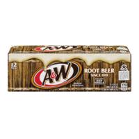 A&W Root Beer 12PK of 12oz Cans