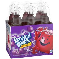 Kool-Aid Bursts Grape Flavor 6.75oz EA  6CT