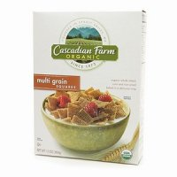 Cascadian Farm Cereal MultiGrain Squares 12.3oz Box