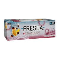 Fresca Black Cherry Citrus Soda 12 Pack of 12oz Cans
