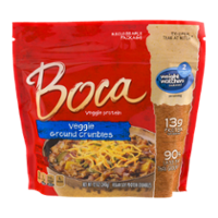 Boca Veggie Ground Crumbles 12oz Bag product image