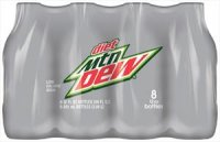 Diet Mt Dew 8 Pack of 12oz Bottles