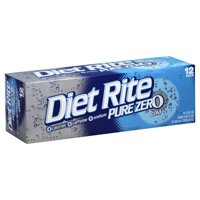 Diet Rite Cola 12PK of 12oz Cans