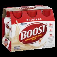 Boost Nutritional Drink Original Vanilla Delight 8oz EA 6PK product image