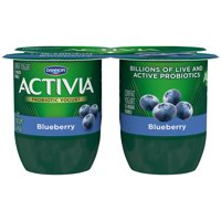 Dannon Activia Yogurt Blueberry 4oz. EA 4PK