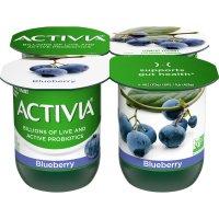 Dannon Activia Yogurt Blueberry 4oz. EA 4PK product image