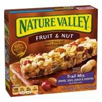 Nature Valley Chewy Trail Mix Bars Fruit & Nut 6CT