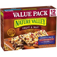 Nature Valley Chewy Trail Mix Bars Variety Pack 12CT 14.8oz Box