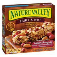 Nature Valley Chewy Trail Mix Bars Cranberry & Pomegranate 6CT product image