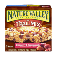 Nature Valley Chewy Trail Mix Bars Cranberry & Pomegranate 6CT