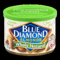 Blue Diamond Almonds Whole Natural 6oz Can