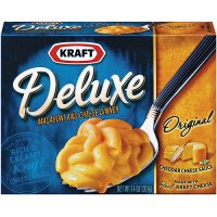 Kraft Deluxe Macaroni & Cheese Dinner Original 14oz PKG