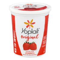 Yoplait Low Fat Yogurt Original Strawberry 32oz Tub product image