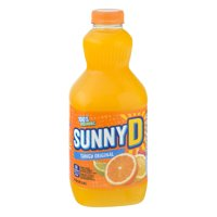 Sunny Delight Original Tangy 8PK of 6.75oz BTLS