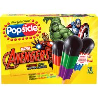 Popsicle Super Heroes Pops 18CT product image