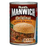 Hunt's Manwich Sloppy Joe Sauce Original 15oz Can
