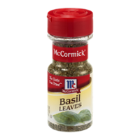 McCormick Basil Leaves .62oz. BTL