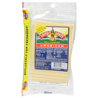 Land O Lakes Sliced American White Cheese Deli Thin 10CT 8oz PKG