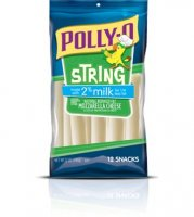 Kraft Polly-O String Cheese 2% Milk Reduced Fat 12CT 10oz PKG