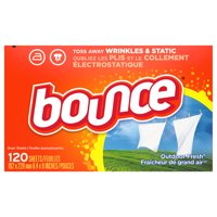 Bounce Dryer Sheets Outdoor Fresh Scent 120CT product image
