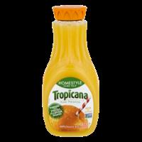 Tropicana Pure Premium Orange Juice Homestyle Some Pulp 59oz BTL