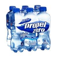 Propel Zero Vitamin Enhanced Water Blueberry Pomegranate 16.9oz. Bottles 6PK